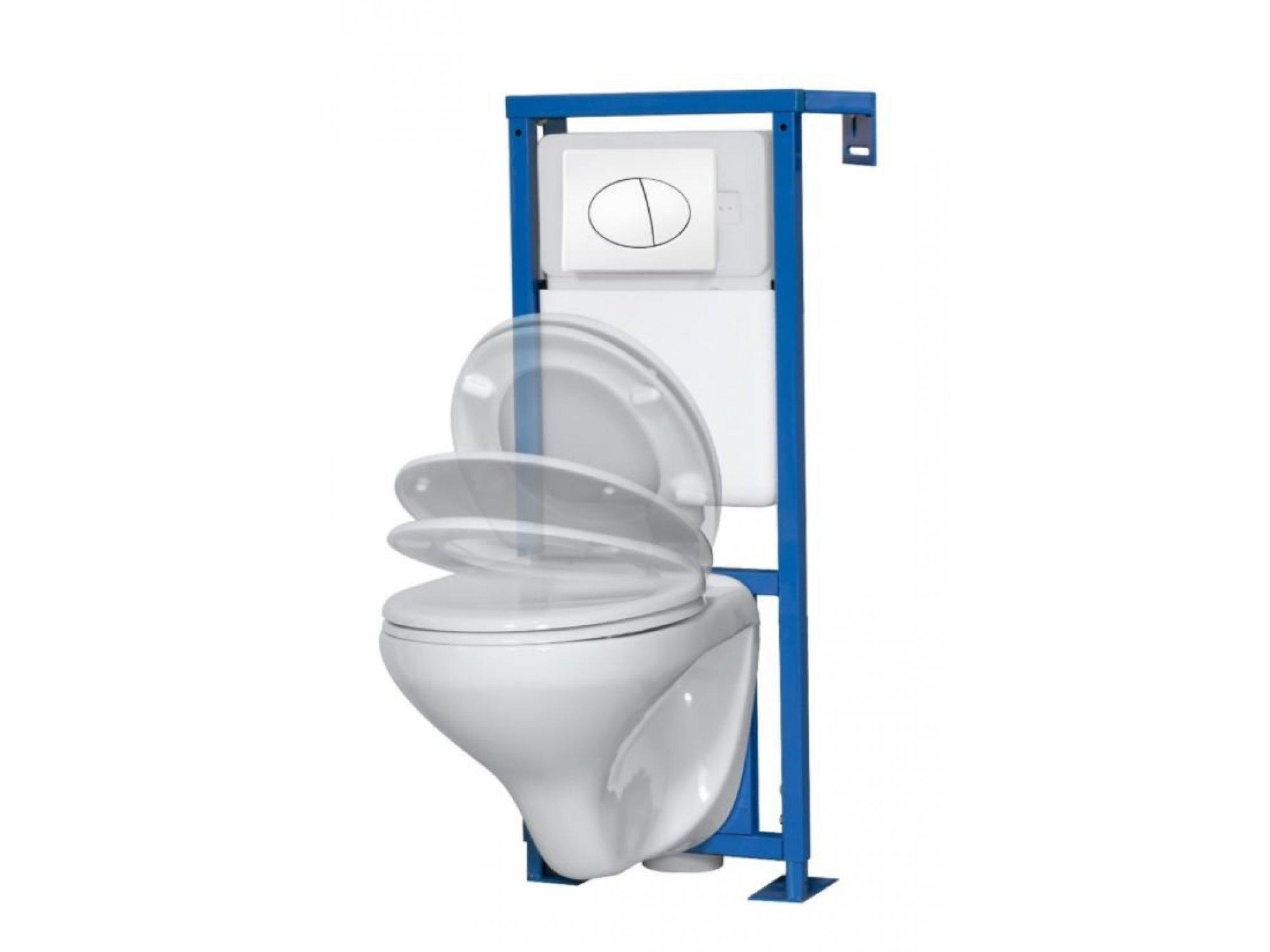 Set toaleta suspendat