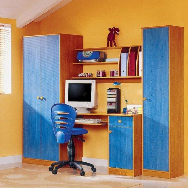 Biblioteca Set CANDY Arin Galbui /Albastru Outlet