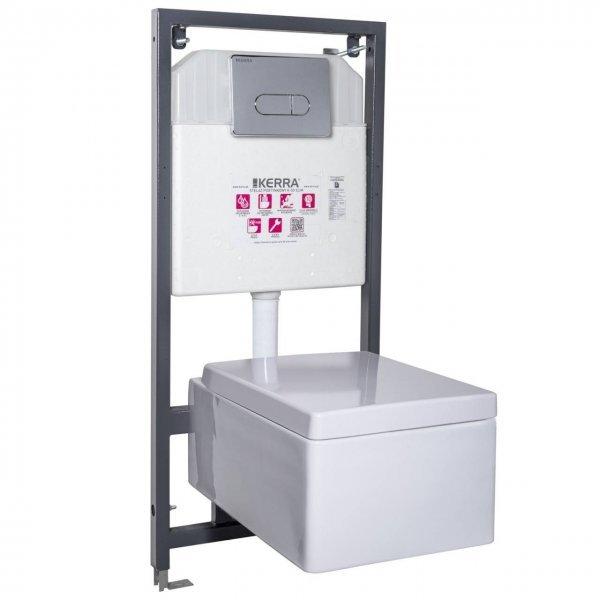 Set toaleta suspendata Thor 16/Pacific Crom